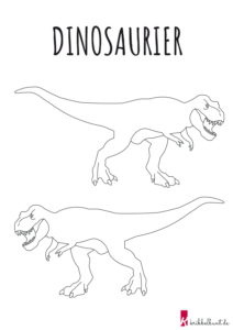 t-rex ausmalbild | kribbelbunte ausmalbilder