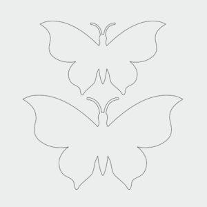 Schmetterling Ausmalbild