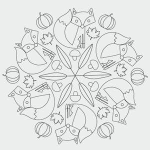 Herbst Mandala