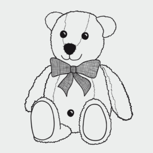 Teddy Ausmalbild